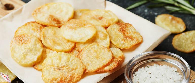 Domashnie kartofel'nye chipsy