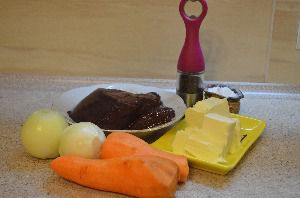 Ингредиенты для приготовления печеночного рулета