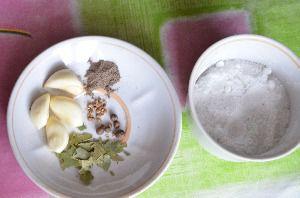 Подготовить специи и соль