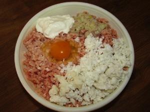 приготовление котлет с рисом и фаршем