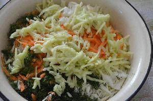 как приготовить салат цветок