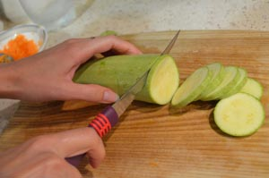 как приготовить закуску из кабачков