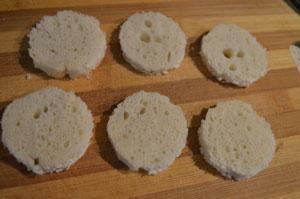как сделать канапе с креветками