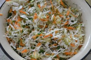 как сделать салат цветок