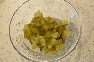 как сделать салат солнышко