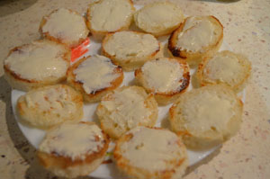 Рецепт приготовления канапе с креветками
