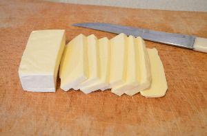 Ингредиенты для приготовления сырных палочек из лаваша