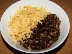 Рецепт приготовления котлет с грибной начинкой