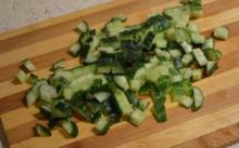 Ингредиенты для приготовления крабового салата