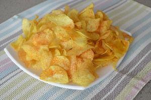 Рецепт приготовления чипсов картофельных