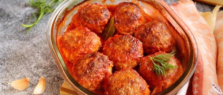 Tefteli v tomatnom souse