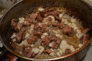 Рецепт приготовления гуляша из говядины