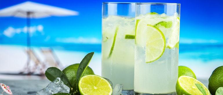 Grushevyj limonad s tarhunom