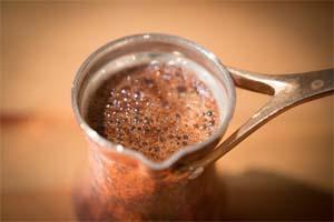 как сделать кофе в турке