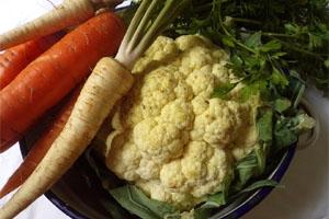 приготовление цветной капусты по-корейски с морковью