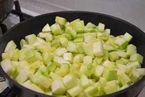 Ингредиенты для приготовления икры кабачковой