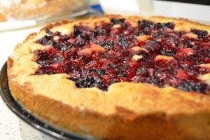 Рецепт приготовления пирога из песочного теста