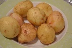 как приготовить картошку с салом запеченной в фольге