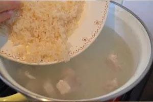 Ингредиенты для приготовления супа харчо