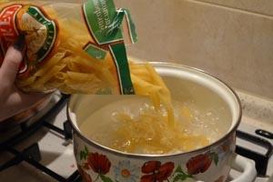 как сделать макароны по-флотски с печенью
