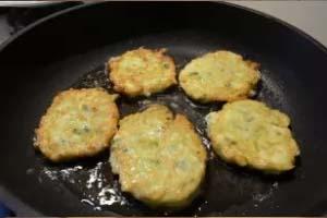 Рецепт приготовления оладий из кабачков