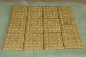 Ингредиенты для приготовления торта из крекера