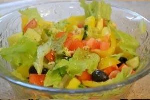 Рецепт приготовления салата греческого
