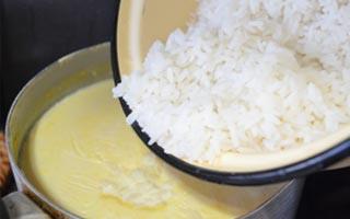 Рецепт приготовления рисово-тыквенной каши