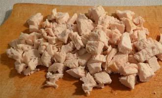 Ингредиенты для приготовления салата из курицы, апельсина и моркови по-корейски