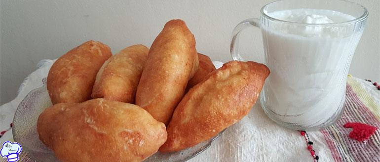 Пирожки с картошкой и печенью