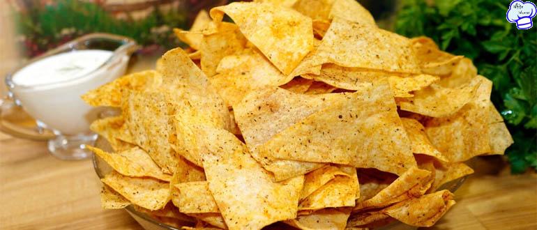 Чудесные чипсы из лаваша