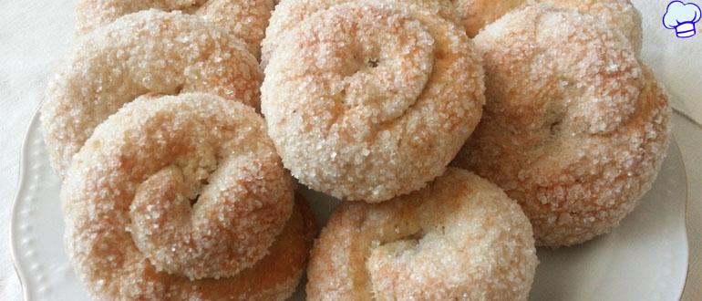 Печенье Сахарные колечки