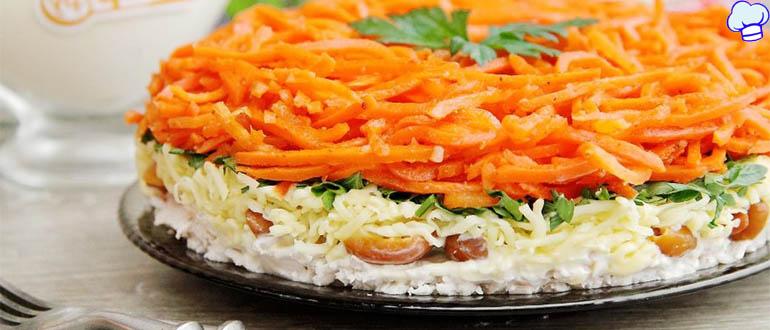 Салат Выручалочка из простых продуктов