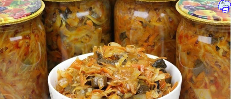 Вкусная грибная солянка