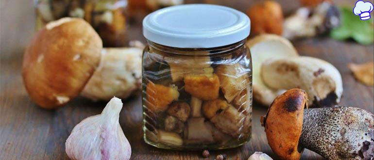 10 замечательных заготовок из грибов на зиму